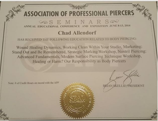 Chadwick Allendorf APP Annual Educational Conference 2014